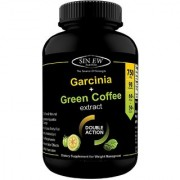 Sinew Nutrition Weight Management Combo 750mg (Garcinia Cambogia and Green Coffee Bean Extract) - 90 Pure Veg Capsules