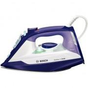 Fier de calcat Bosch Sensixx'x DA30 TDA3026110, Talpa Ceranium-Glissee, 2600 W, 0.32 l, 160 g/min, Alb/Mov