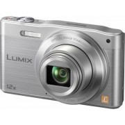 "Aparat Foto Digital Panasonic DMC-SZ10EP-S, 16 MP, 1/2.33"" CCD, Filmare HD, Zoom Optic 12x, Wi-Fi (Argintiu)"