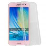 Husa Full TPU 360 (fata spate) pentru Samsung Galaxy A5 (2015) Transparent