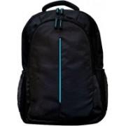 DRAZO 15.6 inch Expandable Laptop (Black) 20 L Backpack(Blue, Black)
