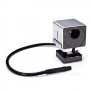 un-05 ocultos HD Night Vision 1080p coche Wi-Fi DVR-Plata