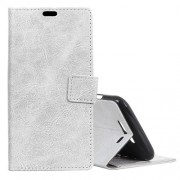 Retro Crazy Horse Texture Horizontal Flip Leather Case for Xiaomi Black Shark with Holder & Card Slots & Photo Frame(White)