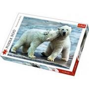 Puzzle Ursi Polari, 500 piese