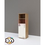 TODI ZOO 1 ajtós szekrény