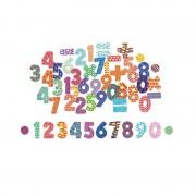 Дървени магнити цифри и знаци Vilac