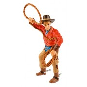 Bullyland Cowboy with Lasso Action Figure