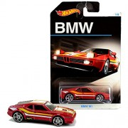 Luxury Car Hot Wheels Year 2015 BMW Series 1:64 Scale Die Cast Set 1/8 - Red Color Coupe M1 Djm80