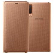Capa Flip para Samsung Galaxy A7 (2018) EF-WA750PFEGWW - Dourado