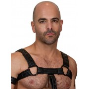 665 Inc. Bulldog Neoprene Harness Black 9551