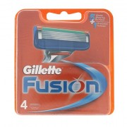 Gillette Fusion lama di ricambio 4 pz uomo