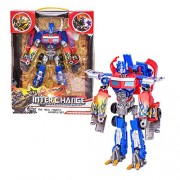 IndusBay Transformer Optimus Prime Toy Autobot Robot to Truck Converting Autobot Transformers Toy for kids