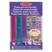 Melissa & Doug - 14217 - Kit De Loisirs Créatifs - Dessine Tes Propres Bracelets