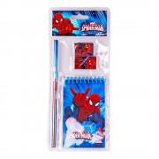 Spiderman blue 4 részes iskolai szett