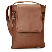 Awesome Fashions Unisex Sling Bag (Brown,Af062)