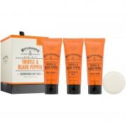 Scottish Fine Soaps Men's Grooming Thistle & Black Pepper kosmetická sada I. pro muže