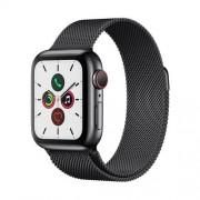 Apple Watch Series 5, Edelstahl, Cellular, Space Schwarz, 40mm Smartwatch 40mm