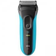 Електрическа самобръсначка за сухо и мокро бръснене - Braun Series 3 ProSkin 3010s, синя