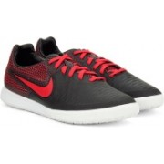 Nike MAGISTAX FINALE IC Football Shoes For Men(Black, Red)