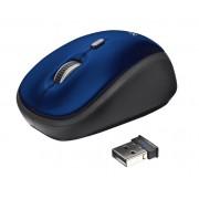 Mouse, TRUST Yvi, Wireless, Blue (19663)