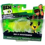 Ben 10 Omniverse Mini PVC 2 1/2 Inch Figure 2-Pack Ben & Shocksquatch