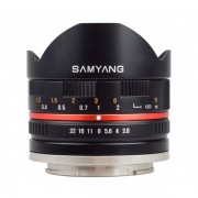 Samyang 8mm 2.8 UMC Fish-eye pentru SONY E Silver