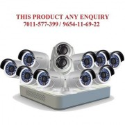 Hikvision 2 MP 16ch Turbo Hd Dvr (Ds-7116HQHI-F1) With 2 Dome (DS-56DOT-IRPF) & 9 Bullet (DS-2CE-16DOT-IRPF) Cameras