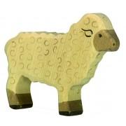 Fa játék állatok - juh, álló