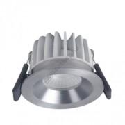 LED mélysugárzó 8W/4000K szabályozható IP44 Spot FIX SI DIM ezüst Ledvance - 4058075811317