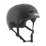 TSG Evolution Solid Color Helmet : satin black - Size: SM