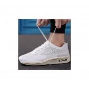 Calzado Deportivo Casual Para Hombre - Blanco