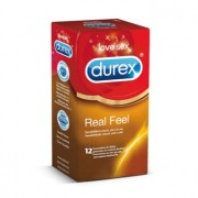DUREX REAL FEEL 12 Unids