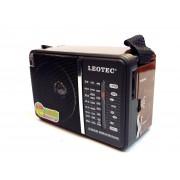 Radio Leotec LT-614 cu 4 benzi radio,alimentare 220v si baterii