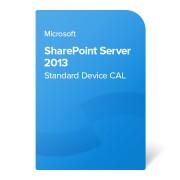 Microsoft SharePoint Server 2013 Standard Device CAL OLP NL, 76M-01513 elektroniczny certyfikat
