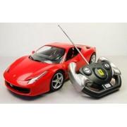 Backhomeday 1:14 Ferrari 458 Italia Remote Control Car R/c Car Model 47300-red