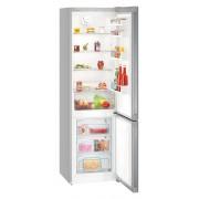Combina frigorifica Liebherr CPel 4813, 342 L, SmartFrost, Display, Control taste, Sertar legume, Alarma usa frigider, H 201.1 cm, A+++, Argintiu