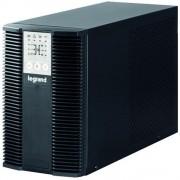 UPS Legrand KEOR LP 1000, 1000VA/ 900W, 3x IEC C13, baterie 2x 12V 7.2Ah, 230V, port USB si RS232, tip online dubla conversie, forma Tower, dimensiuni 236 x 144 x 367mm