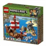 Lego Klocki LEGO Minecraft Przygoda na statku pirackim (21152)