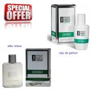 JFenzi Desso Green Universal Men - zestaw promocyjny, woda perfumowana, woda po goleniu