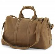 Delton Bags Sac de voyage en cuir marron
