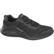Skechers Zwarte lightweight sneaker 45