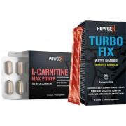PowGen L-Carnitin Max Power + GRATIS: Entwässerungsdrink Turbo Fix