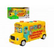 Autobuz scolar educativ cu sunete si lumini Hola