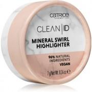 Catrice Clean ID iluminator culoare 010 Silver Rose 7 g