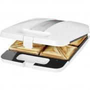 Toster za sendviče ST3629 Clatronic 4-struki bijela-srebrna