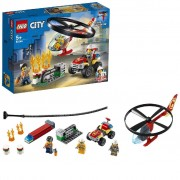 LEGO City 60248 Brandweerhelikopter Reddingsoperatie (4117825)