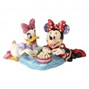Figurine Minnie Et Daisy Popcorn - Disney Traditions Jim Shore