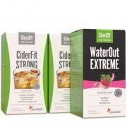 Sensilab Pure & Slim Paket Auf traditionellem Weg zu einer schlankeren Linie CiderFit Strong: 2x 10 Beutel, WaterOut Extreme: 10 Beutel Sensilab
