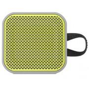 SKULLCANDY Głośnik mobilny SKULLCANDY Barricade Mini BT Szaro-limonkowy
