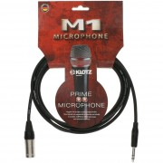 Cablu Microfon Klotz M1 XLR-Jack 6.3 3m